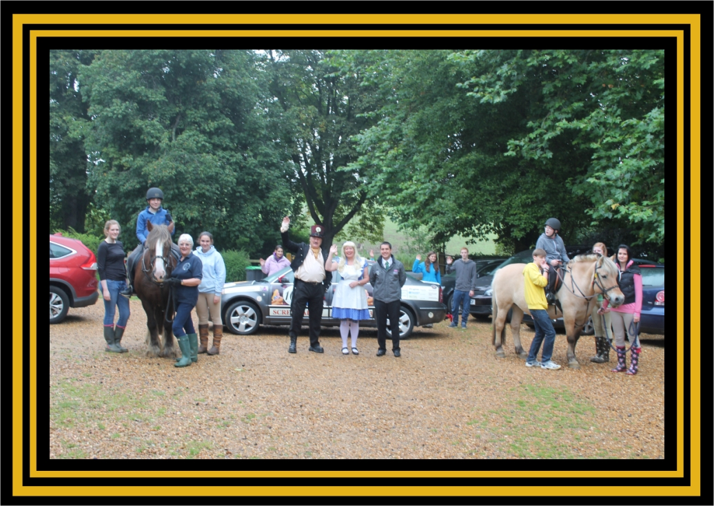 GT Rally Charity horses