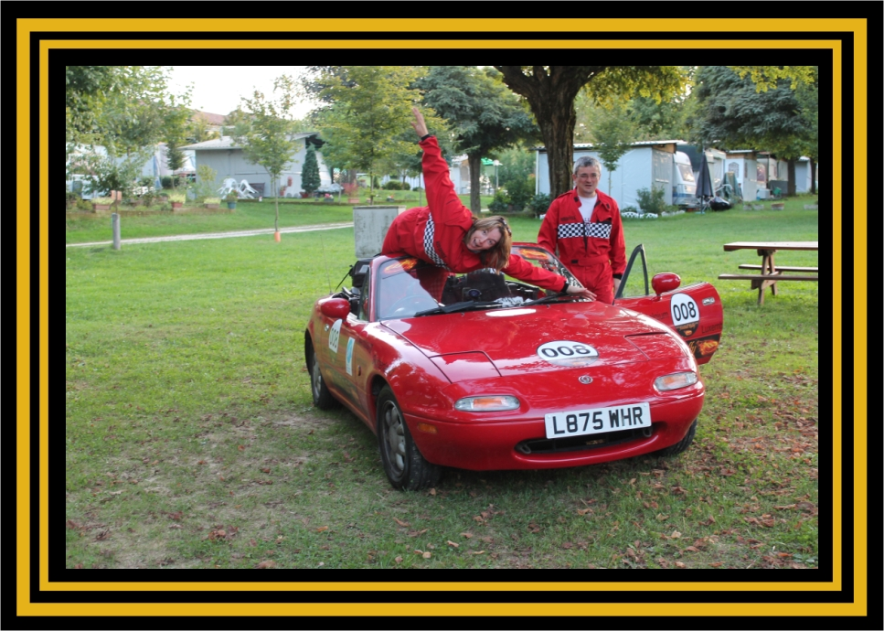GT Rally Mags and Alan